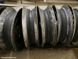 Sheave wheels to be maintained
