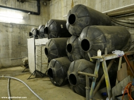 Water tanks for load tests