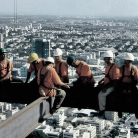 Special Photography Projects – Lunch atop a Skyscraper Tel Aviv