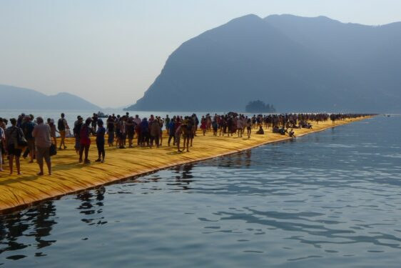 Christo and Jeanne-Claude Floating Piers – Lake Iseo – Impressions and Thoughts