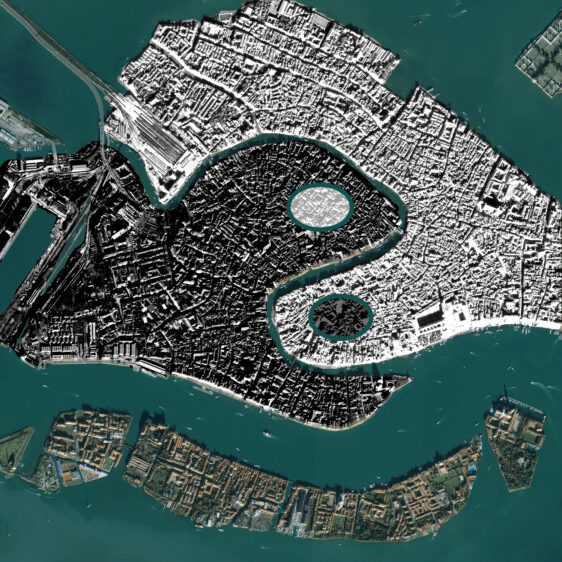 Yin Yang Venice – Digital artwork