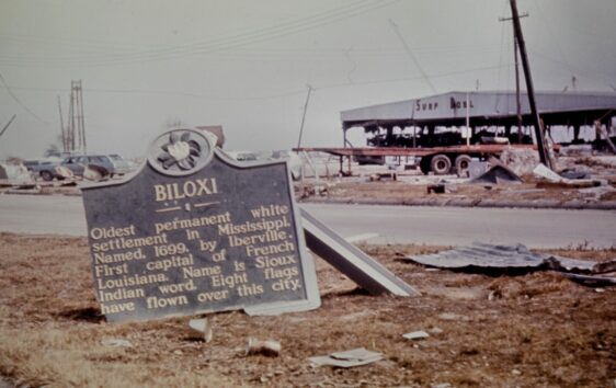 Biloxi Mississippi – Hurricane Camille Aftermath Photos – August 1969
