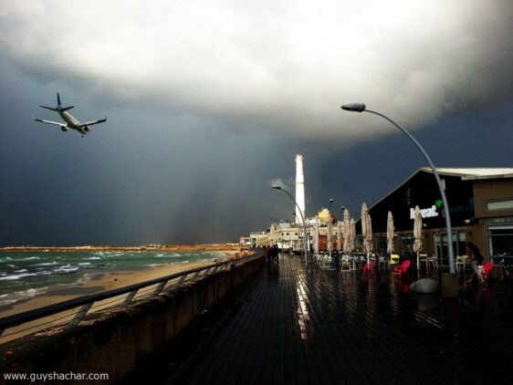 Winter signs – Tel Aviv Port