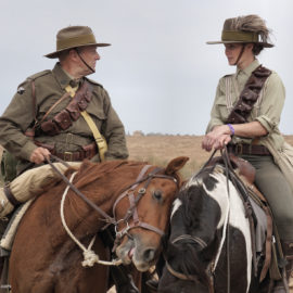 ANZAC cavalry is back to charge at Beersheba after 100 years…