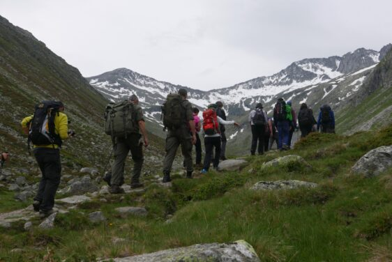 Alpine Peace Crossing – Krimml to Kasern 2015 – Photo Gallery