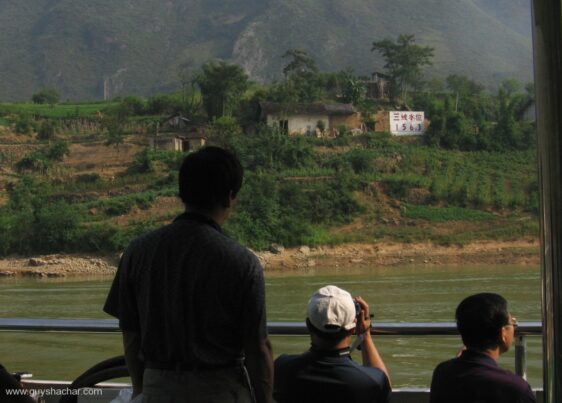 Journey along China's Yangtze rising water due to Three Gorges Dam construction