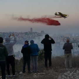 Haifa Fire Photo Diary – 24.11 – 29.11 2016 – Fire day and aftermath