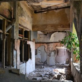 Urban Exploration – Abandoned hotel and theater in Tiberias