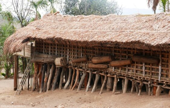Garo Hills Traditional Tribal Architecture – Meghalaya India