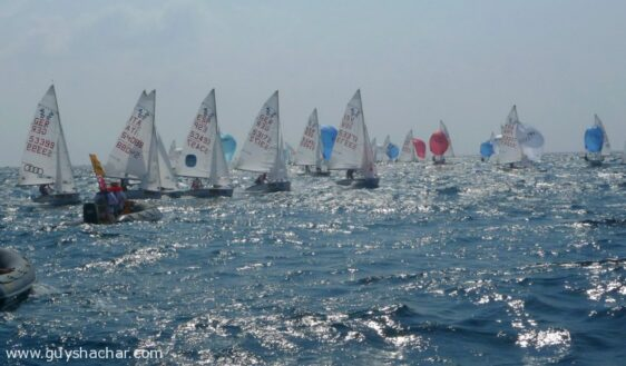 International 420 World Championship in Haifa – Practice Race