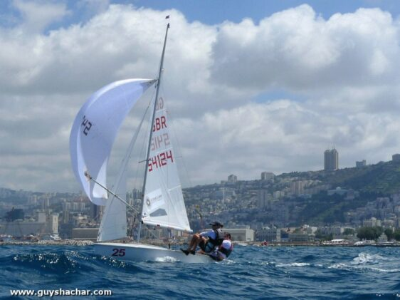 International 420 World Championship in Haifa – Day 7