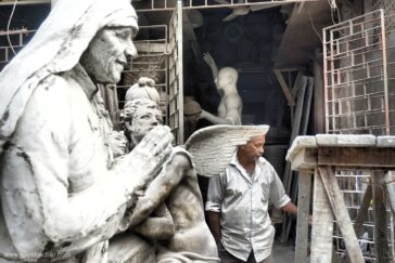 Kolkata – Kumartuli idols and statues workshops