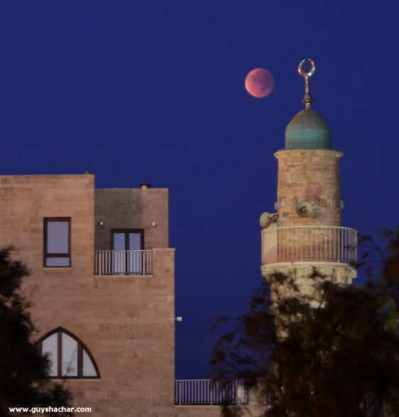 Supermoon total lunar eclipse – Jaffa – Tel Aviv – September 28, 2015