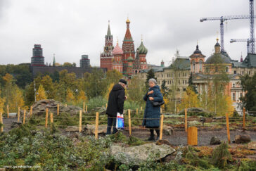 Moscow's Zaryadye Park redefines the architecture discipline