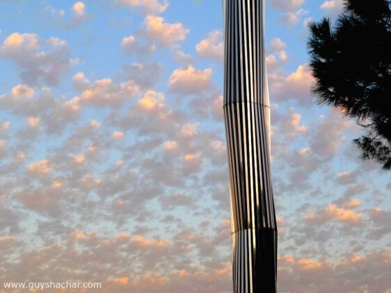 Calatrava Obelisk in The Technion, Haifa, Israel