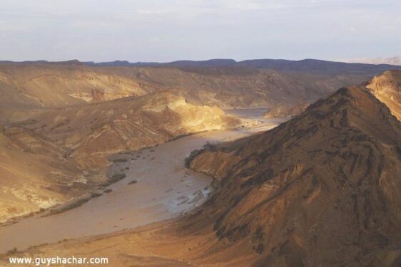 Floods in the Arava, southern Negev and Eilat area