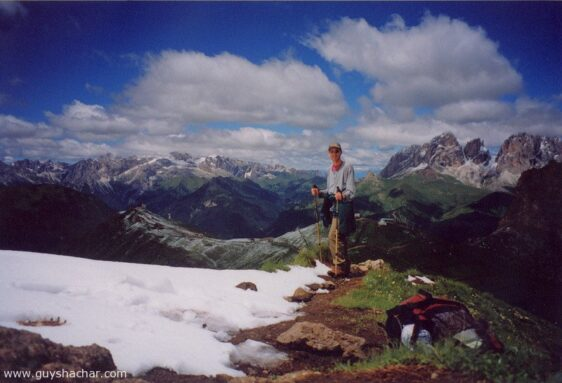Dolomiti 2001 – Hiking in the Dolomites Range, North Italy