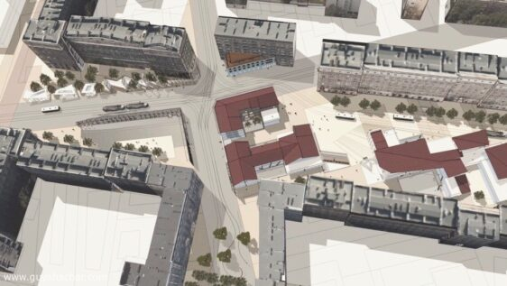 "Warsaw Muranów Urban Renewal – ""Nalewki – Andersa Square"" – 1 – Analysis and Overview"