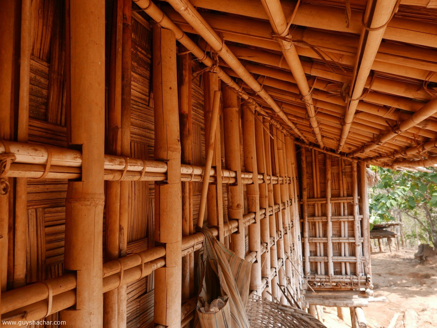 Bamboo Construction Architecture