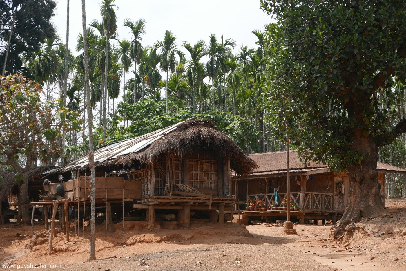 Garo Hills Traditional Tribal Architecture Meghalaya