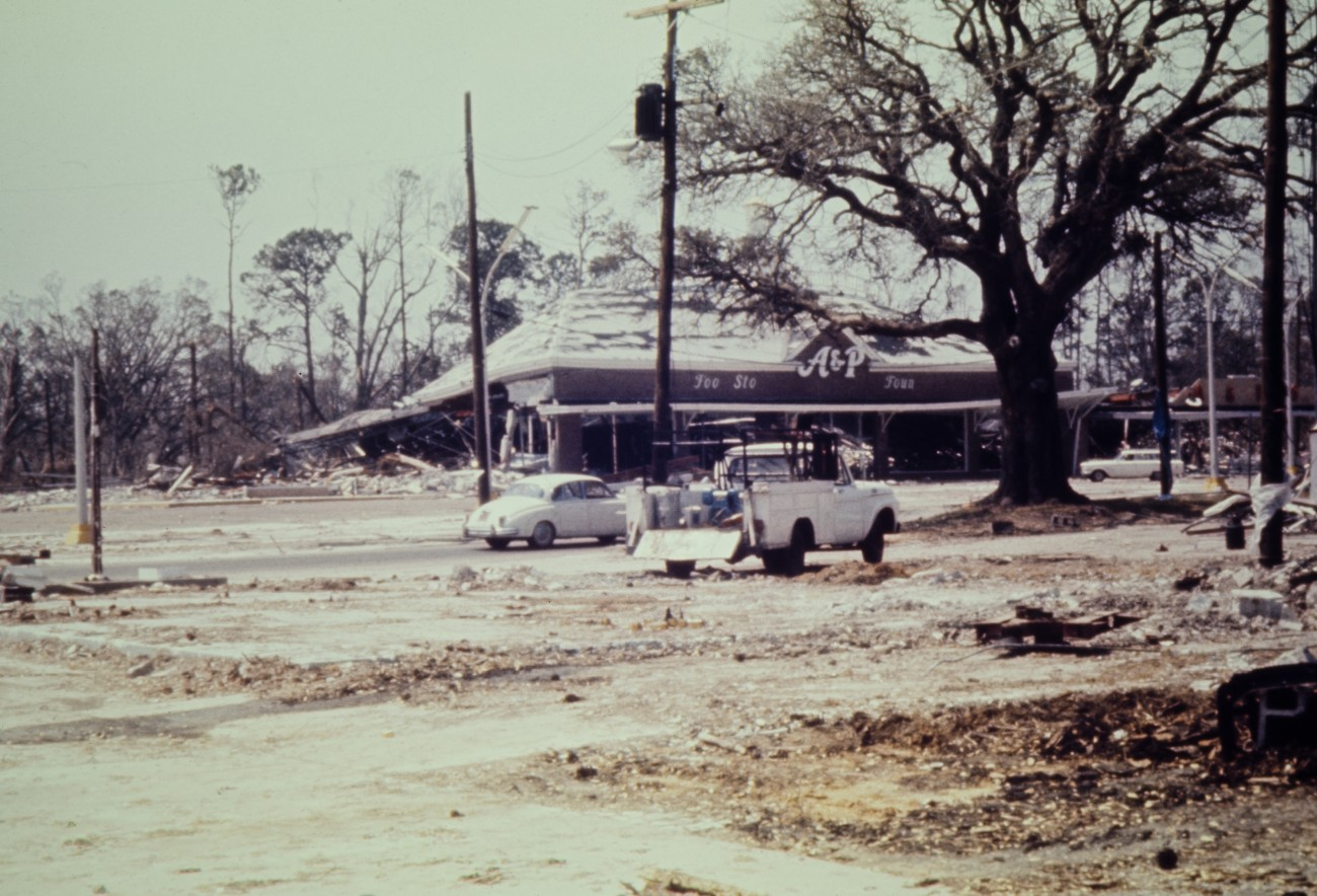 Biloxi Mississippi Hurricane Camille Aftermath Photos